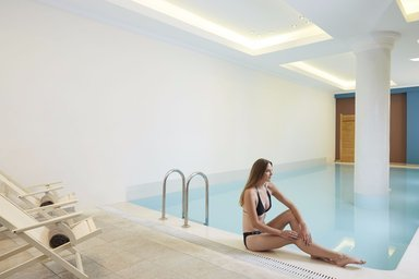 Spa and wellbeing area at Mayor La Grotta Verde.